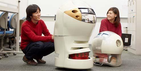 Manzai robots