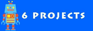 6つのプロジェクトのイメージ